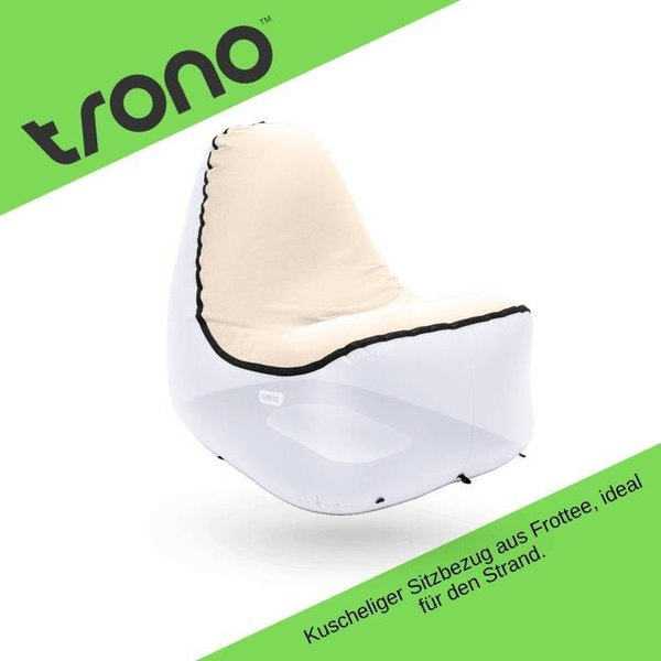 Trono - Beach Cover - Frottee Stoff Bezug