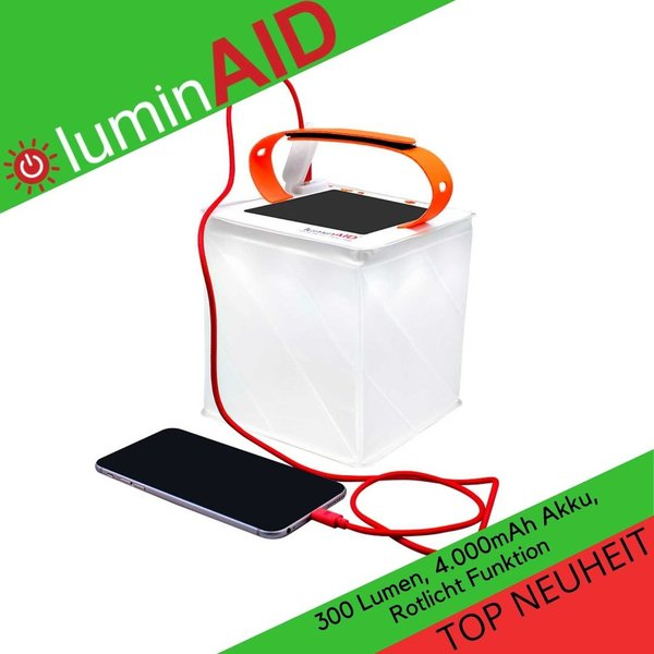 LuminAID - PackLite Titan 2-in-1 Phone Charger - Solarlaterne